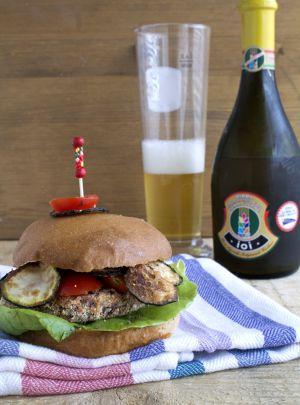 Recette Burger vegan de haricots azuki