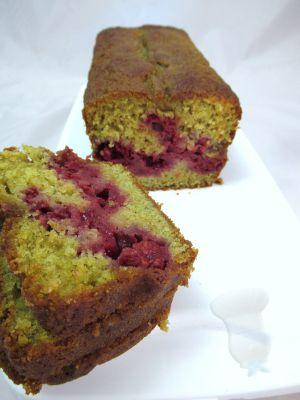 Recette Cake pistache framboise