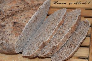 Recette Pain à la farine de châtaigne
