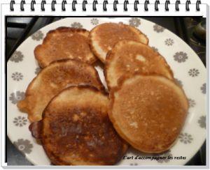 Recette Pancake aux floconc d'avoine