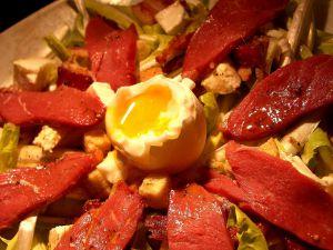 Recette Salade de Pissenlit au Magret de Canard Fumé
