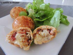 Recette Petits pains au chorizo et oignons frits