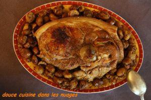 Recette Rouelle de Porc aux Marrons