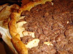 Recette Tarte aux pommes façon crumble au chocolat