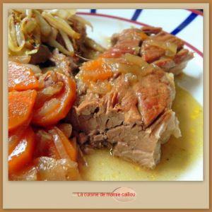 Recette Rouelle de porc braisée