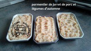 Recette Parmentier de jarret de porc (cookéo)