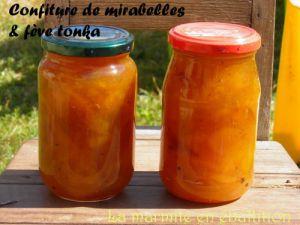 Recette Confiture mirabelles & fève Tonka