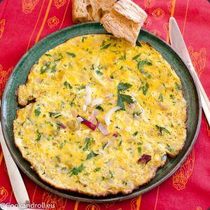 Recette Omelette algérienne - Les Joyaux de Sherazade
