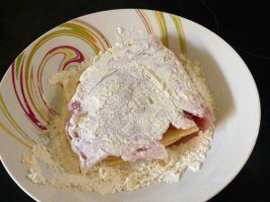 Recette Escalope de dinde panées farcie au fromage