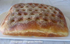 Recette Fougasse d'Aigues-Mortes – Tea Time Challenge # 3