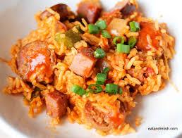 Recette Jambalaya creole cookeo