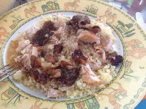 Recette Tajine de poulet aux pruneaux - au Cookeo