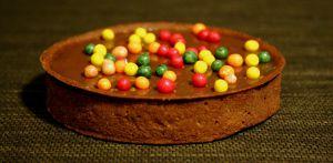 Recette Tarte au chocolat, ou tarte snickers
