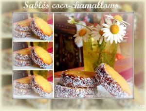 Recette Sablés coco-Chamallows