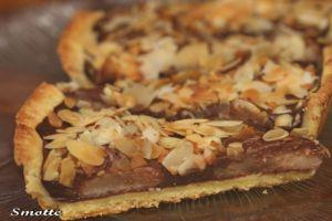Recette Tarte poire-chocolat