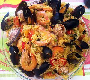 Recette Paella cookeo