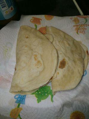 Recette Tortillas au jambon