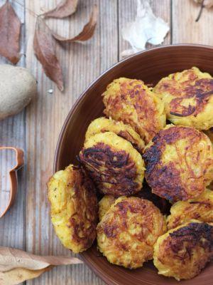 Recette Galettes végétales de butternut