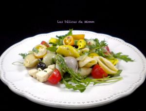 Recette Salade de pâtes à la grecque