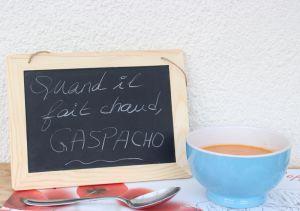 Recette PORRA D'ANTEQUERA (entre la purée et la soupe ; variante gaspacho)
