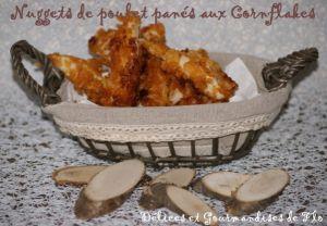 Recette Nuggets de poulet panés aux Cornflakes