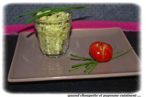 Recette Salade d'avocat aux sardines a l'huile