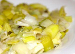 Recette Fondue de poireaux Cookeo