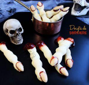 Recette Doigts de sorcière pour Halloween
