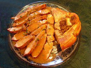 Recette Rouelle de porc sauce Madère