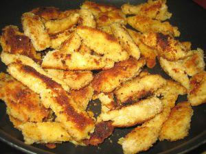Recette Nuggets de poulet, panure au parmesan