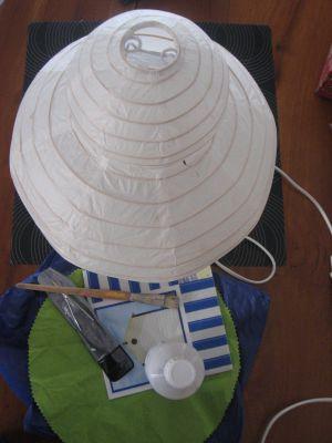 Recette Lampe aux couleurs marines