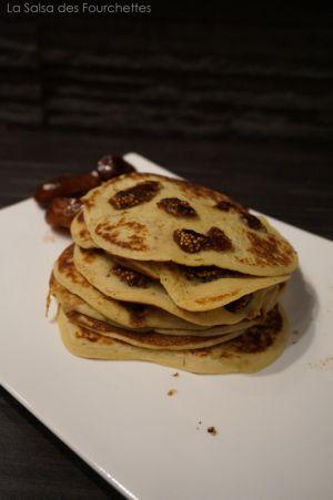 Recette Pancakes aux dattes