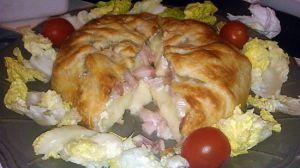 Recette Camembert feuilleté au lardons