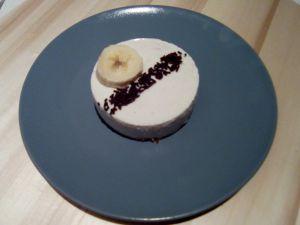 Recette Cheesecake à la banane sans cuisson