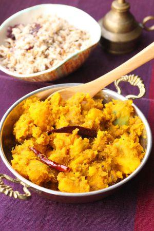 Recette Courge cuisinée comme à Delhi