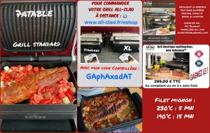 Recette Grill all clad multifonctions