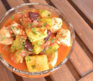 Recette Poulet chili