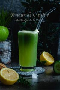 Recette Jus vert au céleri pomme et concombre