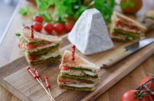 Recette Club sandwich au Pouligny Saint Pierre AOP
