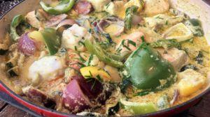Recette Curry rouge de poissons au chorizo