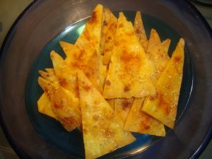Recette Chips mexicaines