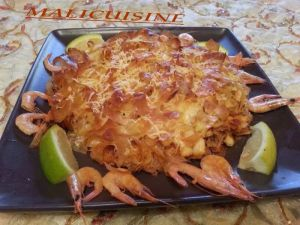 Recette Pastilla aux Fruits de Mer Revisitée