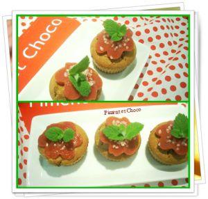 Recette Muffins à la fraise