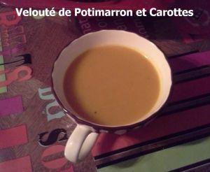 Recette Velouté de Potimarron et Carottes (Multicuiseur ou pas)