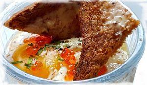 Recette Oeuf Cocotte au Saumon