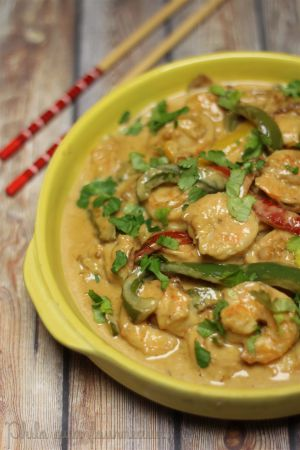 Recette Crevettes à la sauce Thaï