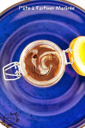 Recette Pâte à Tartiner Marbrée aux 2 chocolats