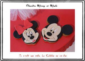 Recette Biscuits décorés Minnie et Mickey