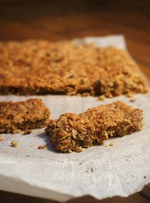 Recette Barres de céréales maison Figues-Abricots