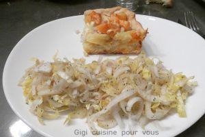 Recette Quiche pommes de terre et saumon fume au cake factory